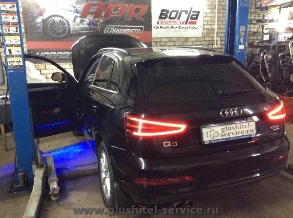 Чип-тюнинг Audi Q3 в Глушитель-Сервис Ярославль