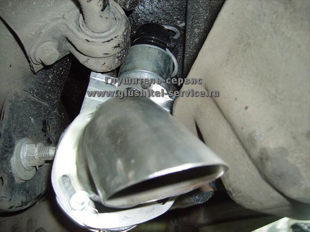 Установка дросселей в систему выпуска Camaro