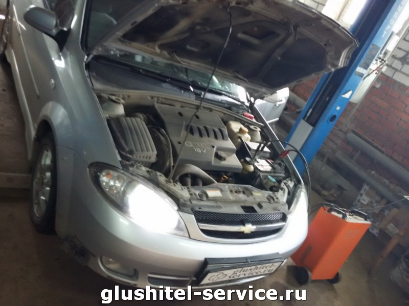 Чип-тюнинг  Chevrolet Lacetti