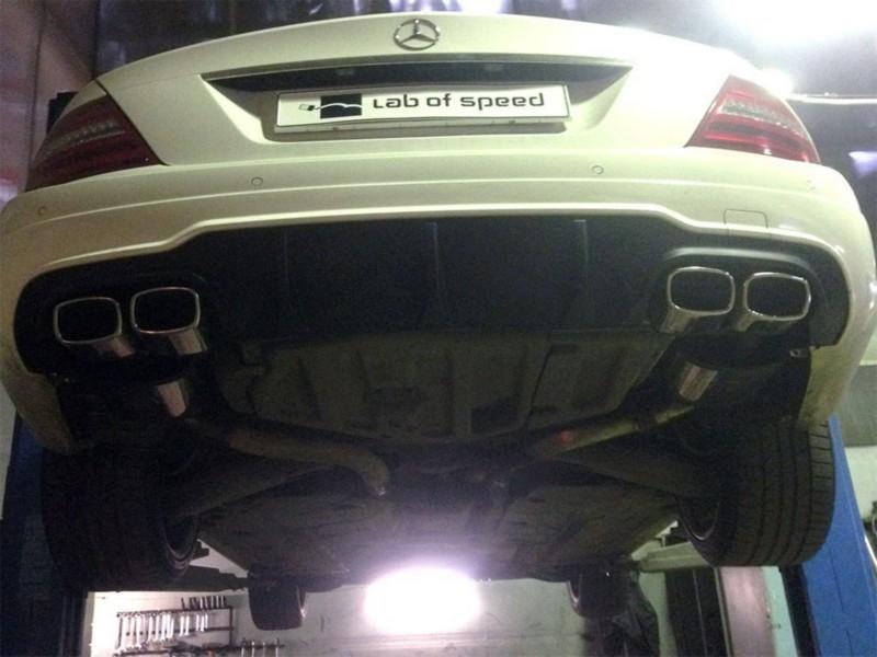 Чип-тюнинг Mercedes Benz C180