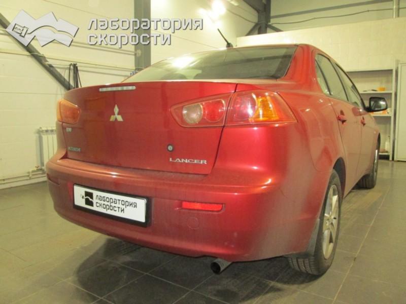 Чип-тюнинг Mitsubishi Lancer 2008