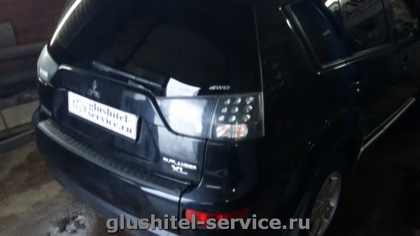 Чип-тюнинг Mitsubishi Outlander XL
