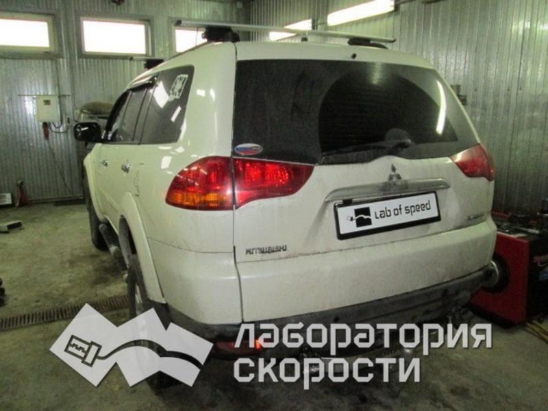 Чип-тюнинг Mitsubishi Pajero