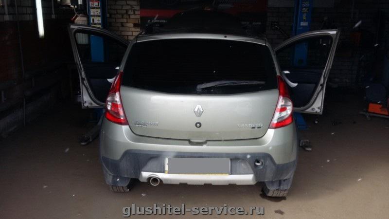 Чип-тюнинг Renault Sandero Stepway