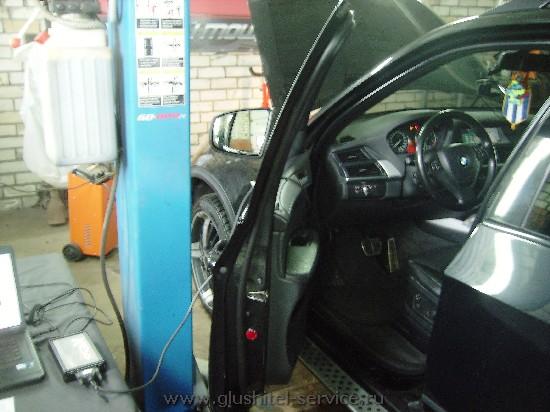 Чип-тюнинг BMW X5 3.0d в Глушитель-Сервисе