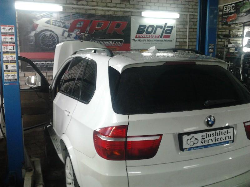 Чип-тюнинг BMW X5 E70 3.0d 235 hp