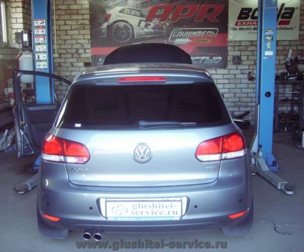 Чип-тюнинг VW Golf 1.4 TSI в Глушитель-сервисе