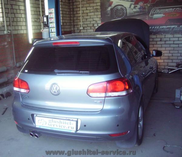 Прошивка VW Golf 1.4 TSI в Глушитель-сервисе