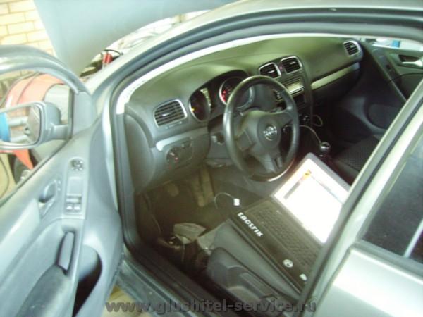 Чип-тюнинг бесплатно для  VW Golf 1.4 TSI в Глушитель-сервисе
