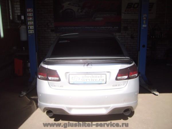 Тюнинг Лексус GS300, Lexus в Глушитель-сервисе