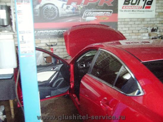 Перепрошивка Mazda 6 2.0 Skyactive в Глушитель-сервис