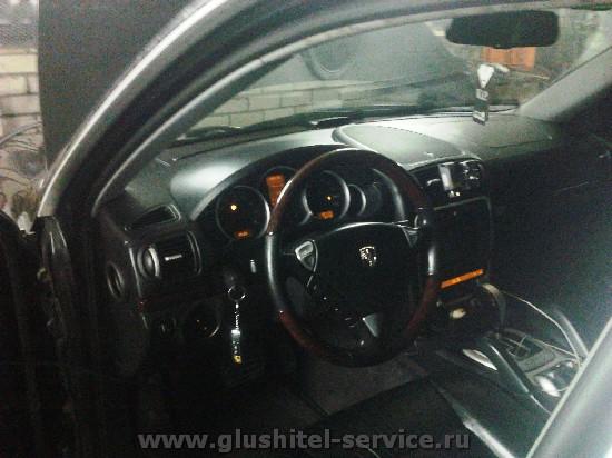Чип-тюнинг Porshe Cayenne S в glushitel-service.ru