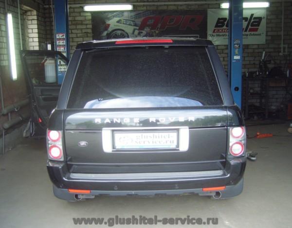Чип-тюнинг Range Rover Supercharged