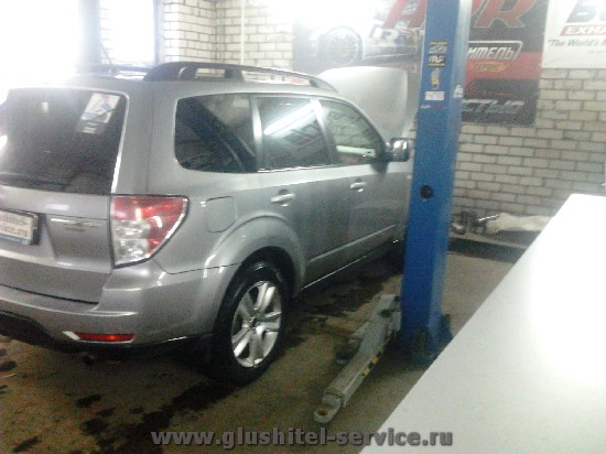 Прошивка ЭБУ Subaru Forester 2.0 в ателье glushitel-service.ru
