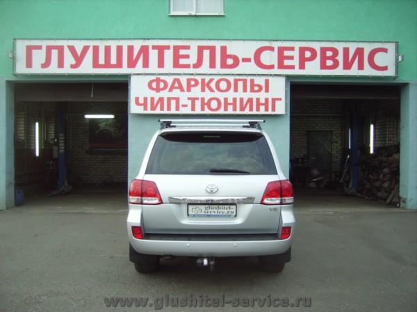 Чип-тюнинг Тойота Ланд Крузер в glushitel-service.ru