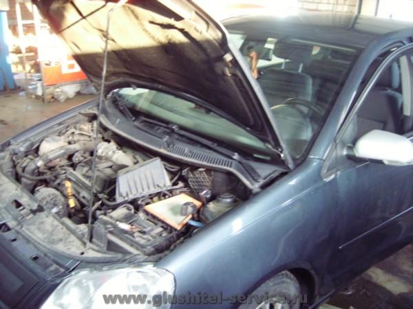 Удаление сажевого фильтра VW Polo 1.4TDI
