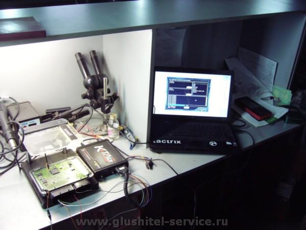 Перепрошивка на столе VW POLO 1.4 TDI