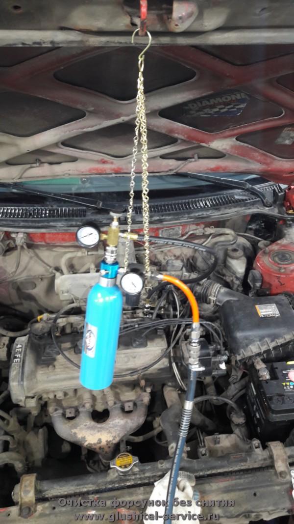Чистка форсунок бензинового двигателя в Ярославле