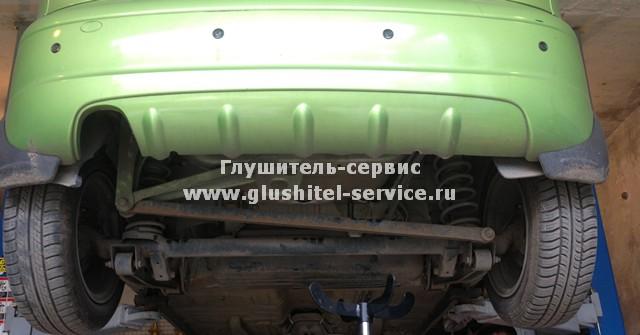 Замена глушителя Daewoo Matiz в www.glushitel-service.ru