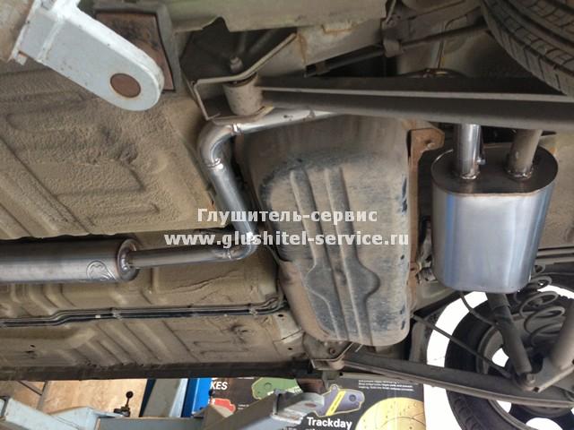 Глушитель на Daewoo Matiz из нержавейки, установлен в Глушитель-сервисе Ярославль