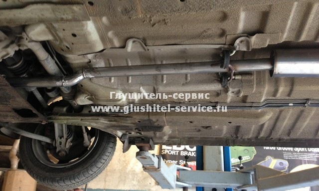 Ремонт выхлопной трубы Daewoo Matiz - www.glushitel-service.ru