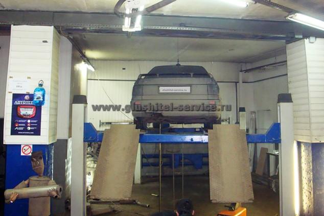Audi 80 - изготовление системы выпуска