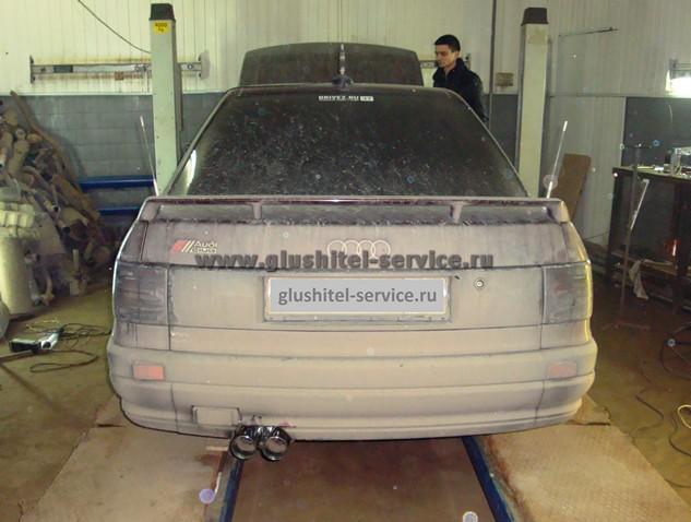 Тюнинг выпуска Audi 80, вид сзади