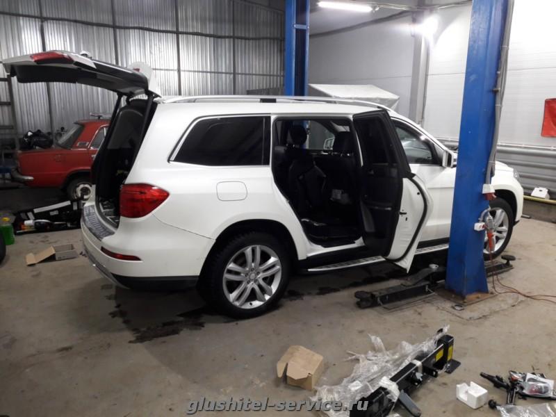 Фаркоп 313421600001 WESTFALIA на Mercedes GL 350
