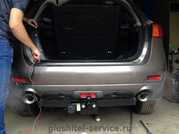 фаркоп N118-F Лидер-Плюс на Nissan Murano