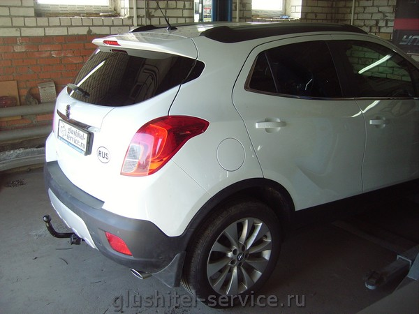 """фаркоп O116-A """"Лидер-плюс""""  на Opel Mokka"""
