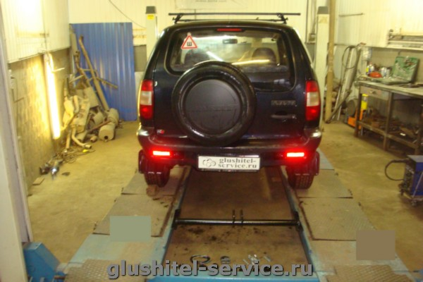фаркоп VAZ-18A Лидер-Плюс на Niva Chevrolet