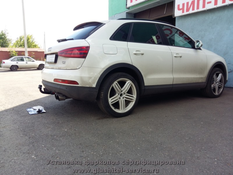 Продажа фаркопов на Audi Q3 в glushitel-service.ru