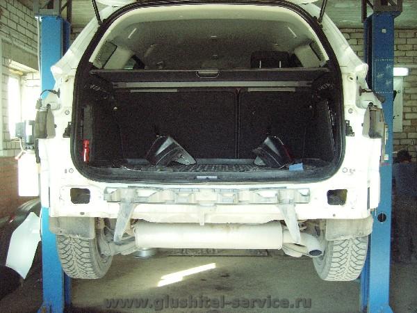 Установка фаркопа Балтекс 08.2359.12 на Ford focus 3 универсал