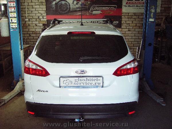 Фаркоп Балтекс 08.2359.12 на Ford focus 3 универсал в glushitel-service.ru