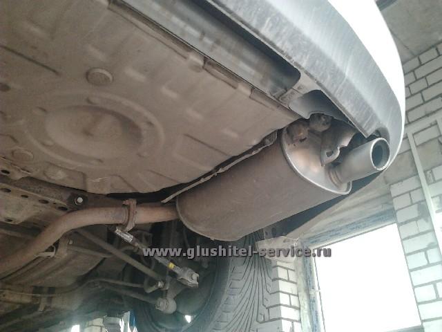 Тюнинг глушителя Toyota Camry V40 2.4 в Ярославле