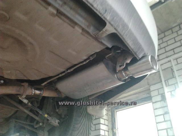 Тюнинг глушителя Toyota Camry V40 2.4 в glushitel-service.ru