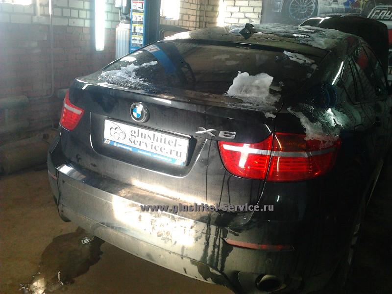 Удаление сажевого фильтра BMW X5 X6 в Ярославле