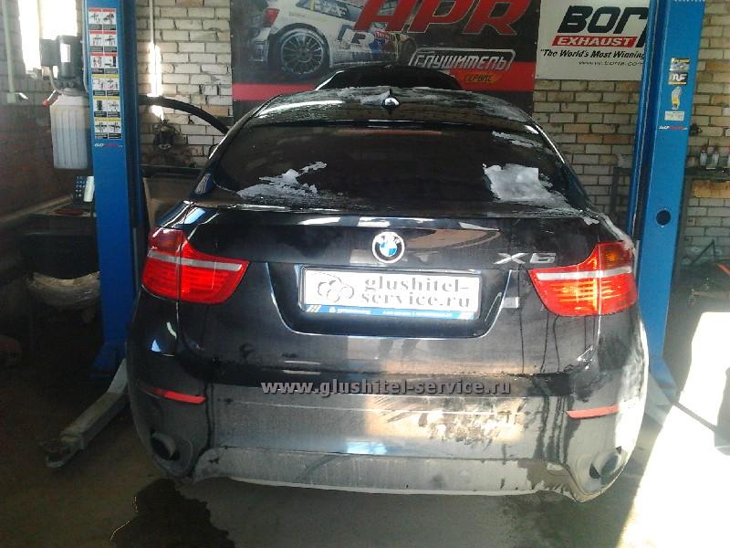 Чип-тюнинг BMW X6 glushitel-service.ru