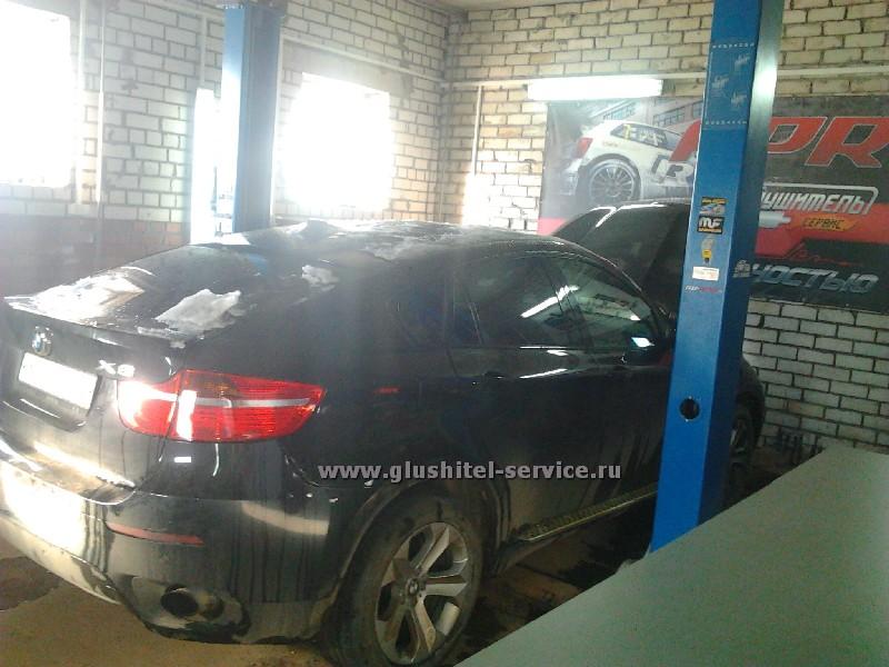 Удаление сажевого фильтра BMW X6 3.0d в Глушитель-Сервисе