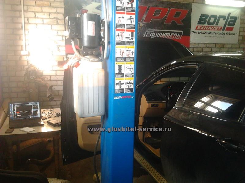 Чип-тюнинг двигателя BMW X6 3.0d glushitel-service.ru