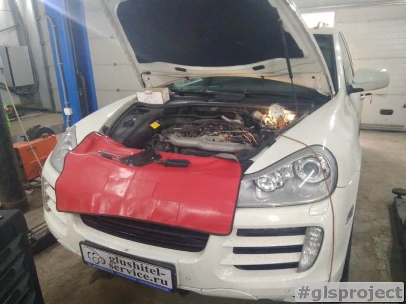 Удаление вихревых заслонок Porsche Cayenne 957 3.0 TDI