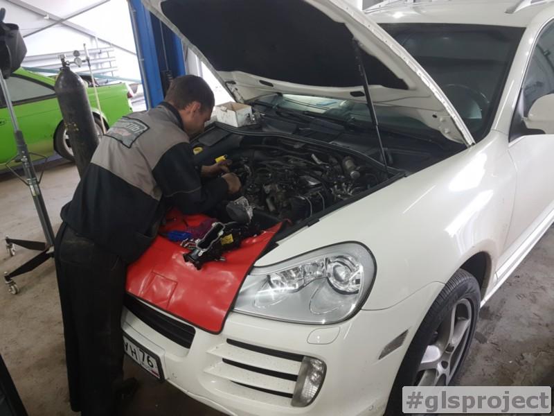 Чип-тюнинг Porsche Cayenne 957 3.0 TDI в GLSproject