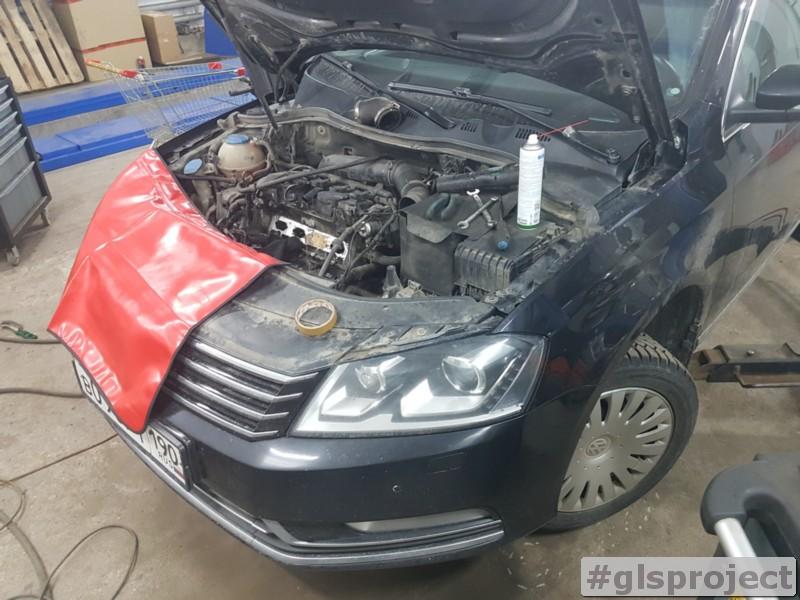 Очистка впуска VW/ Skoda/ Audi/ Seat 1.8/2.0/2.5 TSI TFSI