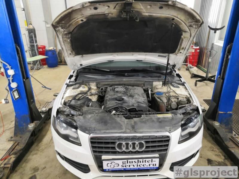 Замена комплекта ГРМ Audi A4 1.8 TFSI