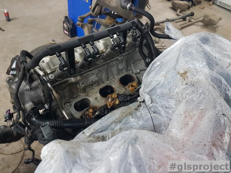 Чистка впускных клапанов Audi Q5 3.2 FSI