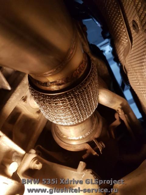 Изготовление даунпайпов BMW 535i Xdrive