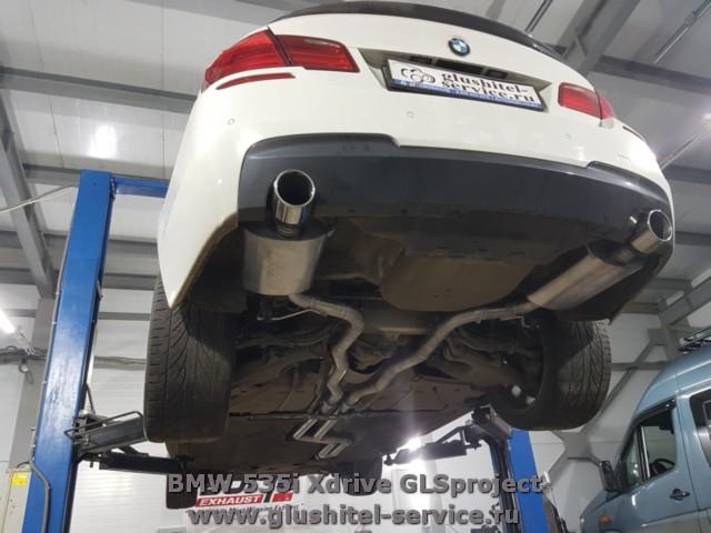 Borla Buzzer Bomfider Exhaust BMW 535i Xdrive