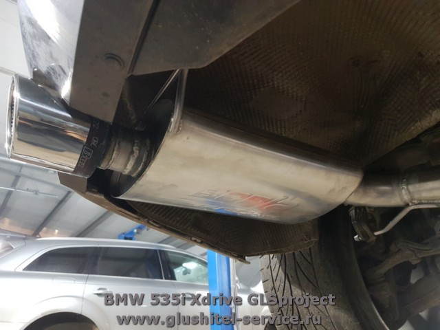 Borla ProXS BMW 535i Xdrive