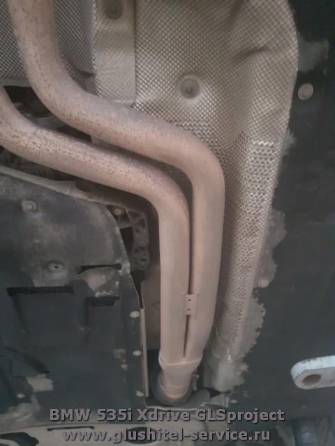 Оригинальный глушитель BMW 535i Xdrive