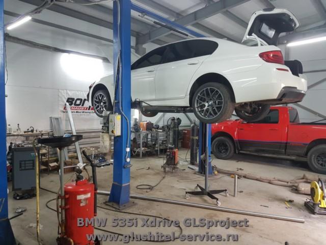 Изготовление выпуска BMW 535i Xdrive